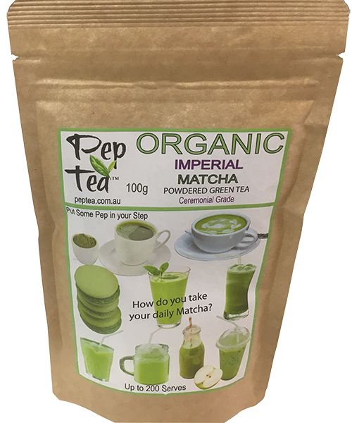 Organic Matcha  Imperial Tea Powder - 100g