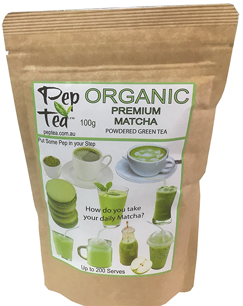 Organic Matcha Premium Tea Powder - 100g