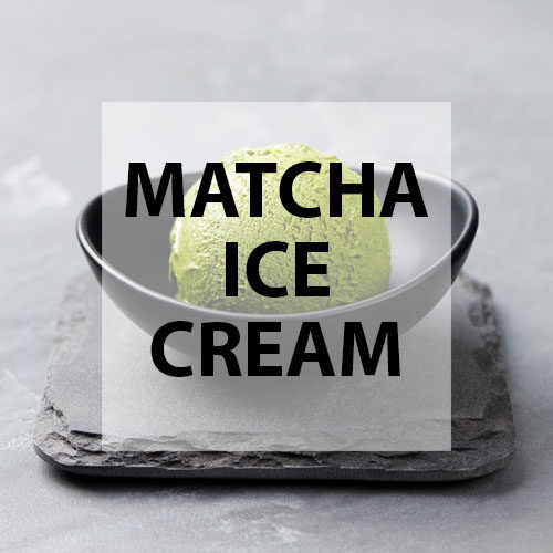 matcha ice cream scoop