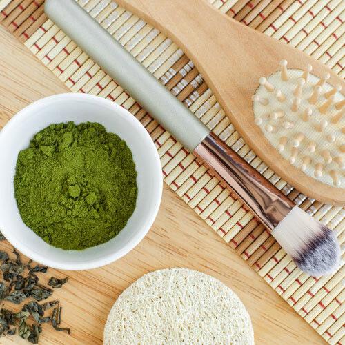 matcha tea face mask